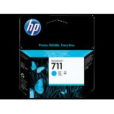 Cartouche d'encre HP 711 DesignJet Cyan authentique