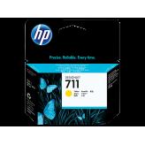 Cartouche d'encre HP 711 DesignJet Yellow authentique