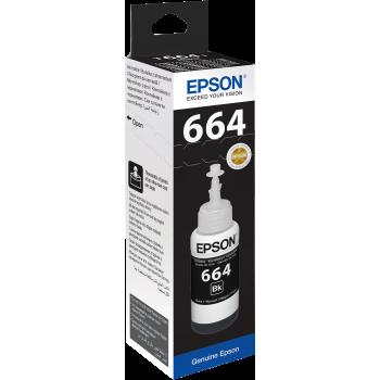 Epson T6641 Bouteille d'encre noire pour recharge (70 ml)