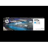 HP 973X cartouche PageWide Cyan grande capacité