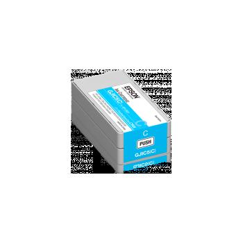 Epson GJIC5(C) Cartouche d'encre cyan DURABrite pour Colorworks C831