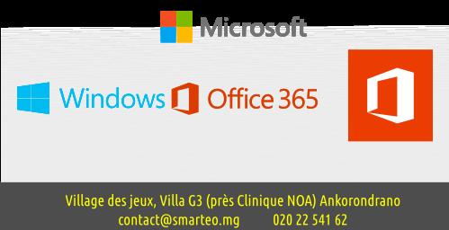 Microsoft Office 2019 et office 365