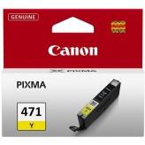 Canon CLI-471 Y Cartouche d'encre jaune