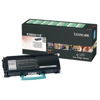 Lexmark E260, E360, E460 Cartouche toner Noir (3,5k)