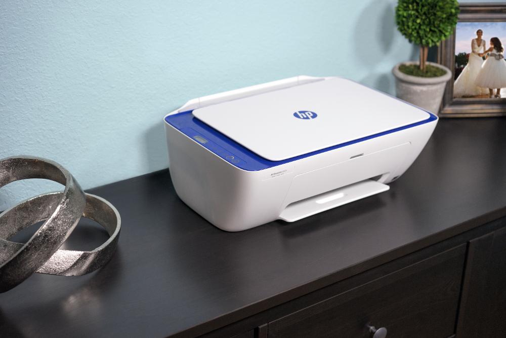 Placez votre imprimante HP deskJet 3630 où vous voulez grâce à sa conception compacte