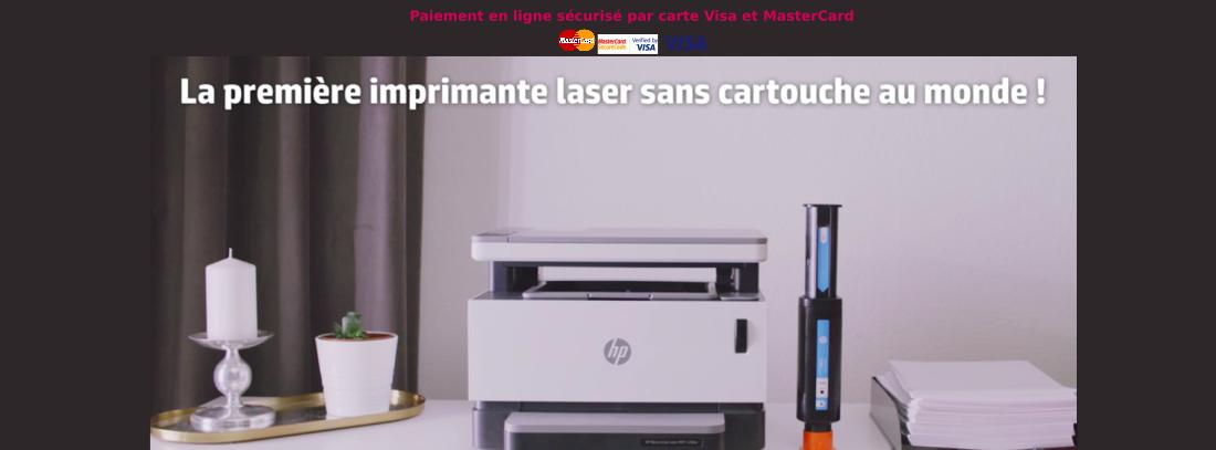Imprimante HP laser rechargeable