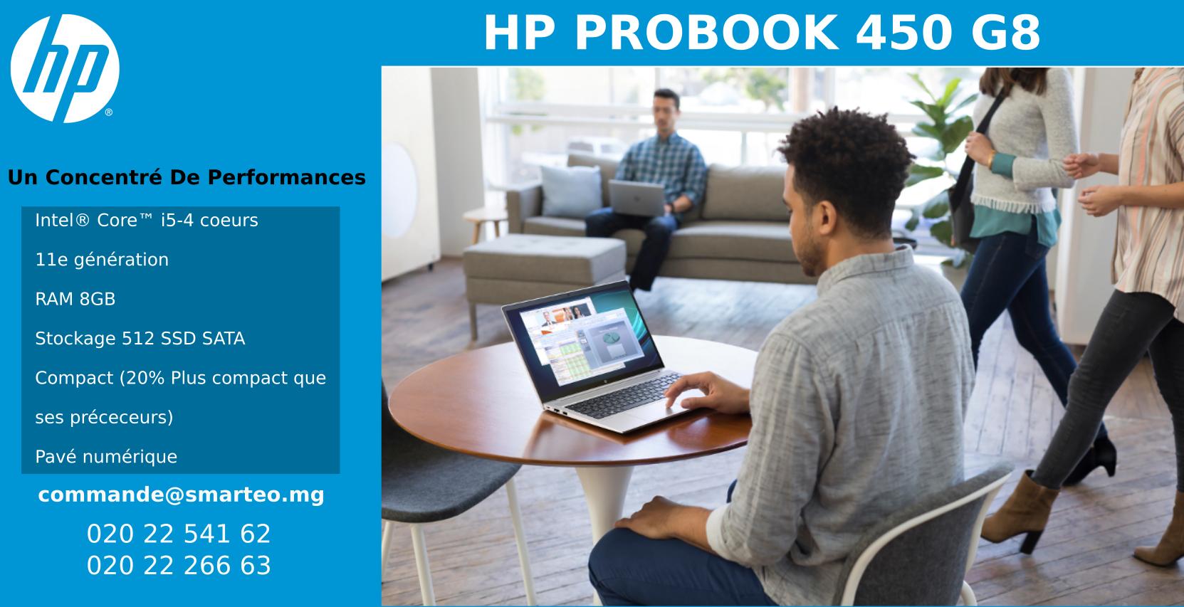 PC portable, laptop Core i5, RAM 8Gb, Disque SSD 512 Gb